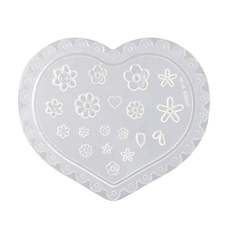夕方マイルド女王coraly 3Dシリコンモールド ネイル 葉 花 抜き型 3Dネイル用 レジンモールド UVレジン ネイルパーツ ジェル ネイル セット アクセサリー パーツ 作成 (1)
