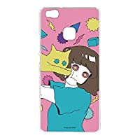 hare. Huawei P9 lite PREMIUM VNS-L52 ケース クリア TPU プリント ねこD (hr-009) スリム 薄型 WN-LC106218