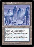 英語版 アイス・エイジ Ice Age ICE カープルーザンの森 Karplusan Forest マジック・ザ・ギャザリング mtg