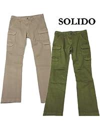 SOLIDO ソリード コットン ストレッチ カーゴ パンツ 2カラー