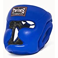 Twins Special Headgear with Cheek protection-hgl3-blue