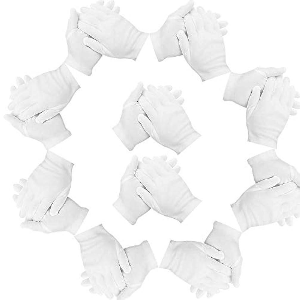 オゾンブレス通り抜けるコットン手袋 Lサイズ 綿手袋 20枚入り