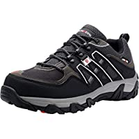LARNMERN Steel Toe Safety Shoes LM-105 Men Anti Smashing Puncture Proof Industrial and Construction Shoes