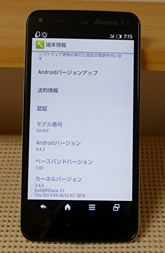 [해외]AQUOS PHONE ZETA SH-01F docomo [WHITE] 흰색 롬/AQUOS PHONE ZETA SH - 01 F docomo [WHITE] white ROM