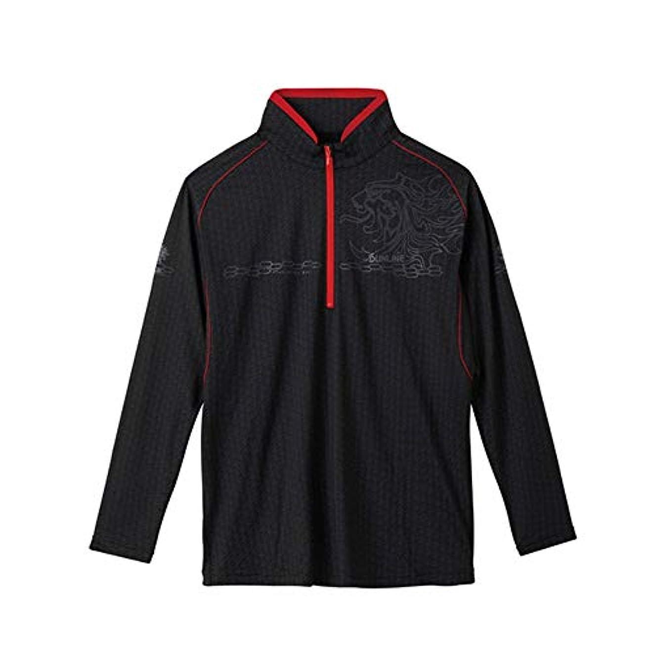 壊滅的な本質的に楽しいサンライン TERAX COOL DRY シャツ 長袖SUW-5570CW S~LL ブラック