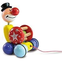 Vilac 2404 pull-along Toy Grantoon Circus