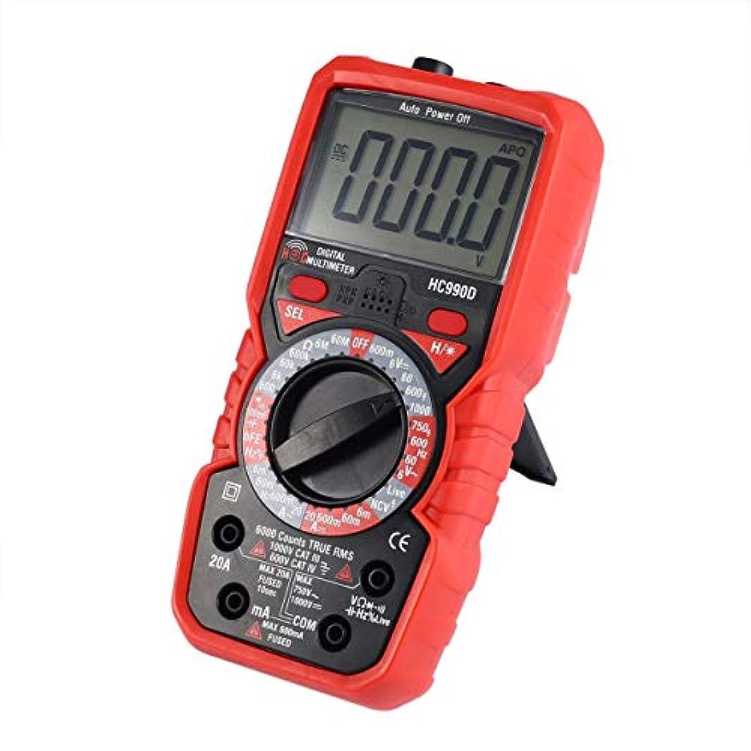 雄大なビーチマイクロ6000は、真のRMS AC / DC温度を備えたデジタルマルチメーターをカウントします。NCVテスター(カラー:レッド&ブラック)