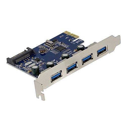 オウルテック USB3.0増設ボード 外部USB3.0×4ポート増設 PCI Express 1xインターフェースボード 1年保証 OWL-PCEXU3E4