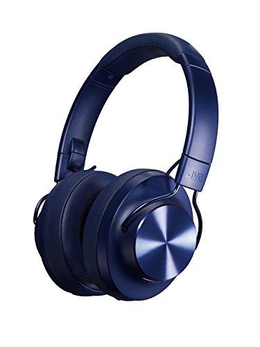 JVC HA-SD70BT ワイヤレスヘッドホン 高音質化技術 K2テクノロジー搭載/連続20時間再生/Bluetooth対応・ハイレゾ対応/折りたたみ式 ブルー HA-SD70BT-A