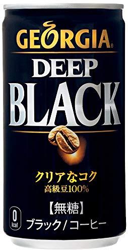 コカ・コーラ ジョージア ディープブラック 185g 1箱(30缶)