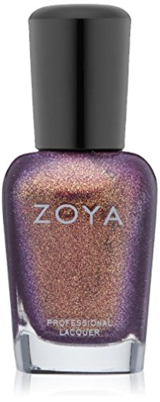 名前を作る剪断計算可能ZOYA ゾーヤ ネイルカラー ZP637 DAUL ダール 15ml  2012 DIVA COLLECTION  レッドパープル グリッター/メタリック 爪にやさしいネイルラッカーマニキュア
