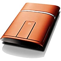 Lenovo N700 Dual Touch Slim 2.4G Wireless Mouse Bluetooth 4.0(Orange) [並行輸入品]