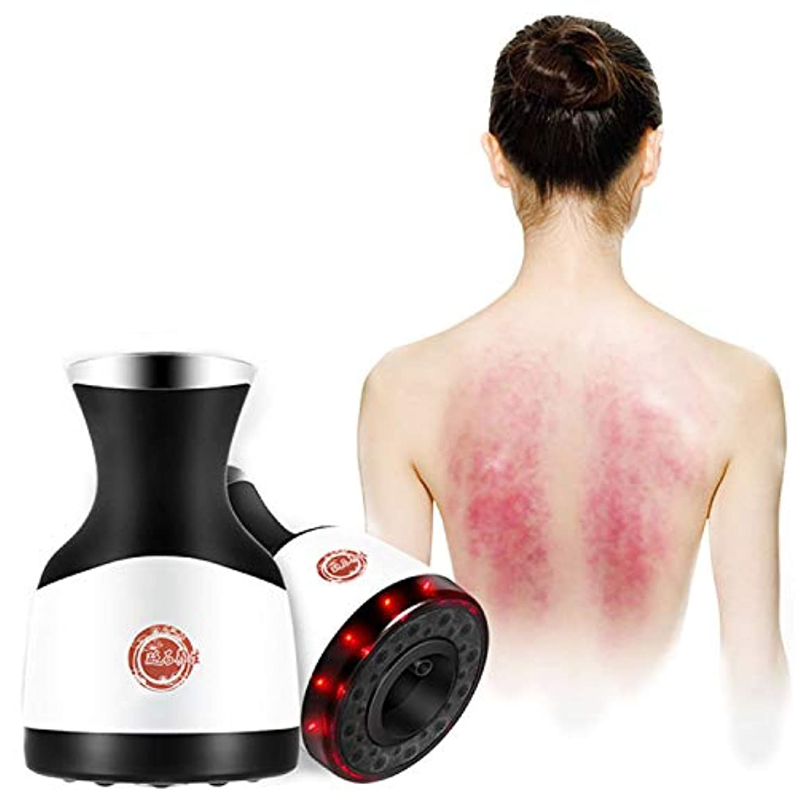 支給私たち自身ユニークなGuasha灸マッサージ、経絡エネルギー機器は、血液循環カッピング吸引鍼灸マッサージ健康ホームズSPAツールを加速します