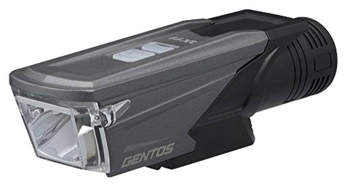 作曲する弁護人後方にGENTOS(ジェントス) USB充電式バイクライト AX 011