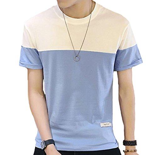 JHIJSC メンズ tシャツ 半袖 綿 薄手 カットソー シンプル スポーツ ゆったり おしゃれ 通勤 通学 おおきいサイズ