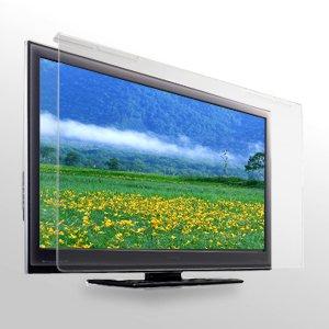 サンワサプライ アウトレット 保護フィルター 液晶テレビ 42V型 対応 CRT-420WHG 箱にキズ、汚れのあるアウトレット品です。