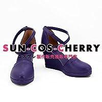 【サイズ選択可】コスプレ靴 ブーツ K-1998 RWBY4 ルビー4 ワイス・シュニー Weiss Schnee 男性26CM