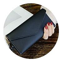 2018春と夏新しい長い段落手形ハート型ペンダントシンプルなファッション多機能ライチ女性の財布,ブラック