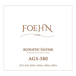 FOEHN AGS-580 Light 80/20 Bronze アコースティックギター×3セット