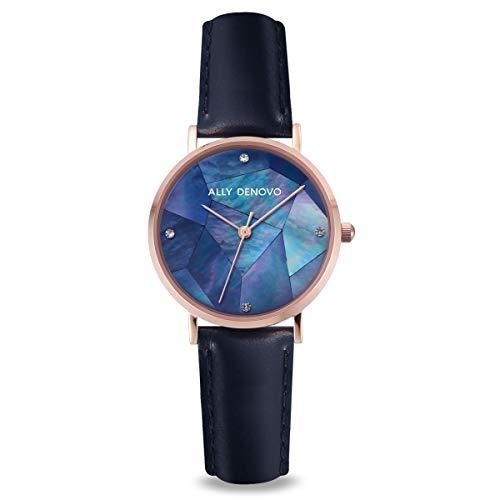 [アリーデノヴォ] ALLY DENOVO 腕時計 Mini Gaia Pearl ミニガイアパール 28mm レディース ウォッチ