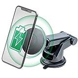 車載 Qi ワイヤレス充電器 車載ホルダー ホールドタイプやマグネットではないナノ吸着パッド スマホホルダー ロングアーム付属【 TAXION 】 安心の国内検品 qi充電器 ナノ 吸着パッド 卓上ホルダー 置くだけ充電 ナノホルダー スマホスタンド 【本体 吸着パッド共に1年保証】TQI-11 iPhone X/XR/XS/XSMAX/8/8 Plus/Galaxy S9/S8/S8 Plus/S7/S7 Edge/S6/S6 Edge/Note 8/Note 5/Nexus 5/6等多機種対応