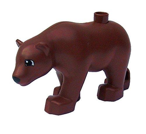 Lego Duplo - 1 Loose Reddish Brown Bear