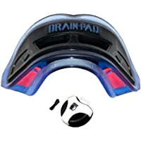 Brain-Pad 3XS Triple Laminated Strap/Strapless Combo (Black/Blue) ADULT by Brain Pad