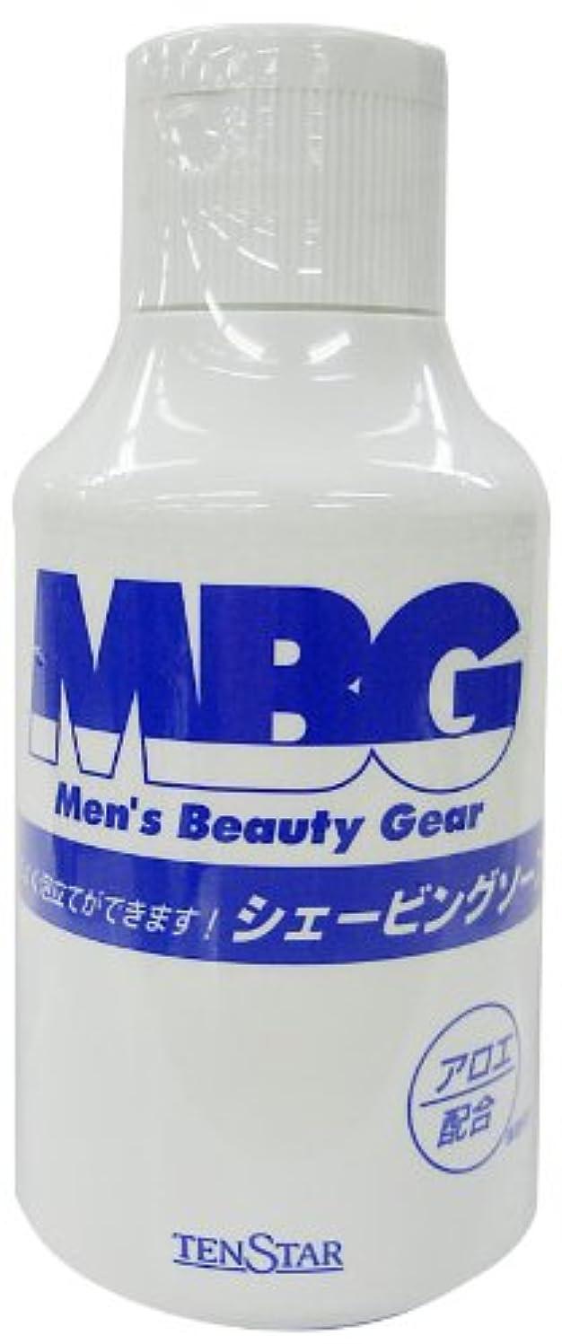 自分いつか不足MBG シェービングソープ