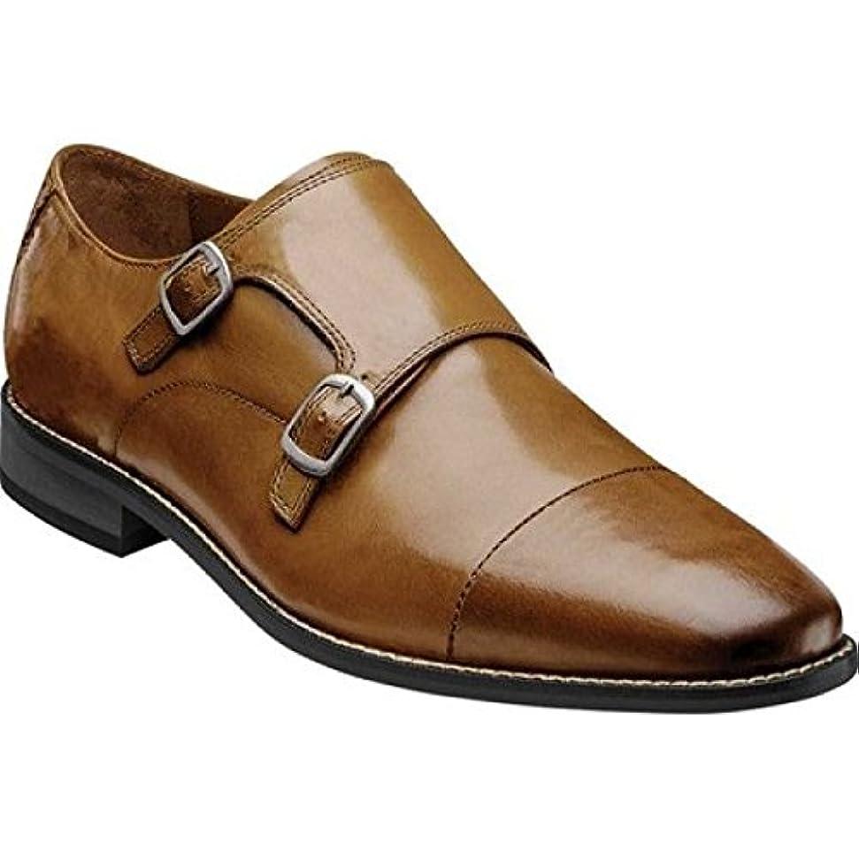 と被る意欲(フローシャイム) Florsheim メンズ シューズ?靴 革靴?ビジネスシューズ Montinaro Double Monk Strap [並行輸入品]