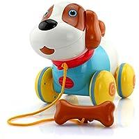 幼児期のゲーム 子供のインテリジェントセンサーペット犬は、おもちゃ(カラフル)に引っ張って