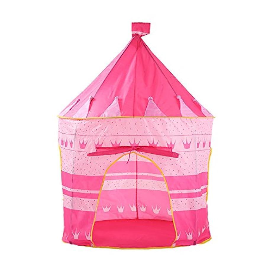 クライストチャーチ確保する敬意子供の折り畳み式の遊びテント-子供と女の子屋内/屋外王女の城のテント、誕生日やクリスマスの贈り物