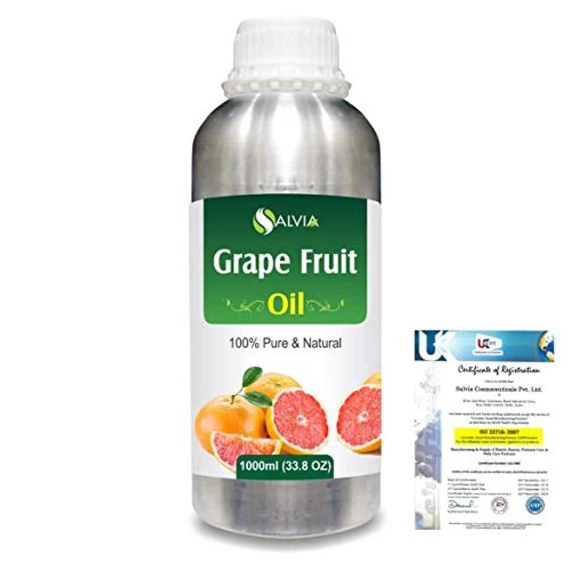 警告参加者苦いGrapefruit (Citrus paradisi) 100% Natural Pure Essential Oil 1000ml/33.8fl.oz.