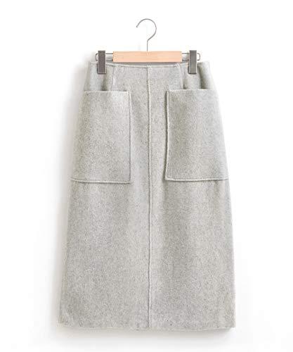 (ペルルペッシュ) Perle Peche モッサアウトポケットタイトスカート