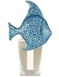 【Bath&Body Works/バス&ボディワークス】 ルームフレグランス プラグインスターター (本体のみ) グリッターブルーフィッシュナイトライト Wallflowers Fragrance Plug Glitter...