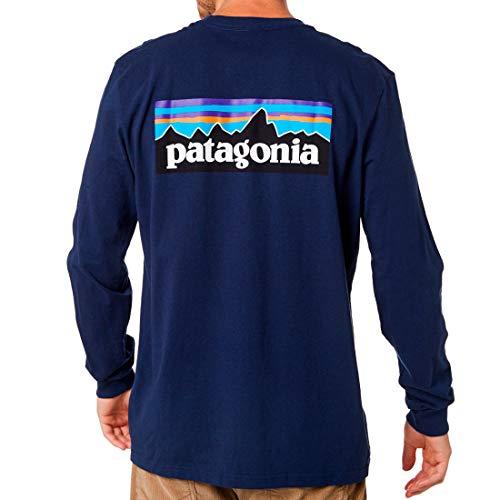 PATAGONIA LONG SLEEVE P-6 LOGO RESPONSIBILI TEE 39161-CNY [並行輸入品]