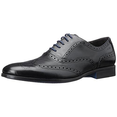 [クラークス] ビジネスシューズ メンズ バンフィールドリミット mens Banfield Limit (旧モデル) Black Leather(ブラックレザー/070)