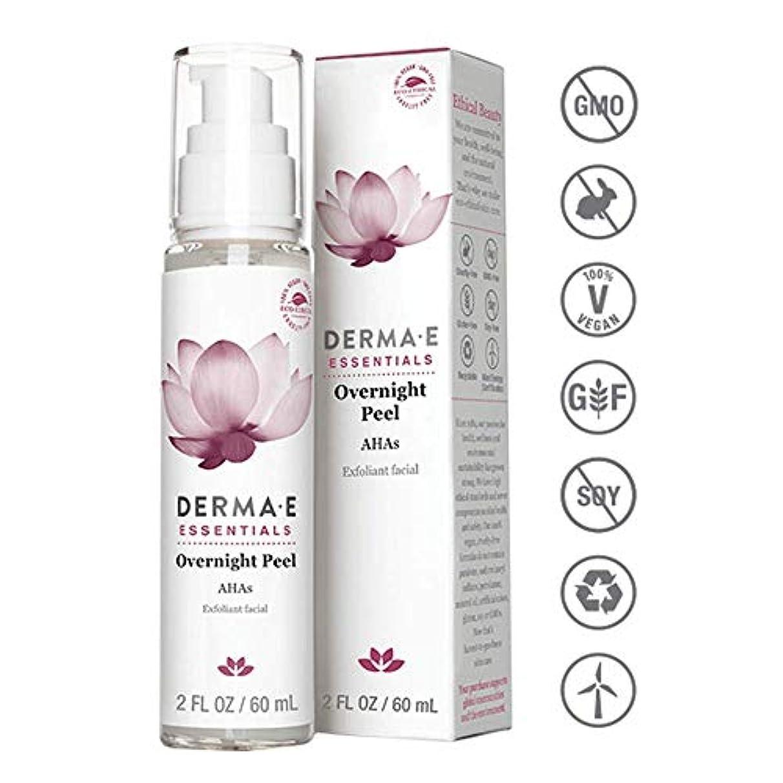 災難感謝する留め金Derma E Evenly Radiant Brightening Night Cream 56g/2oz並行輸入品