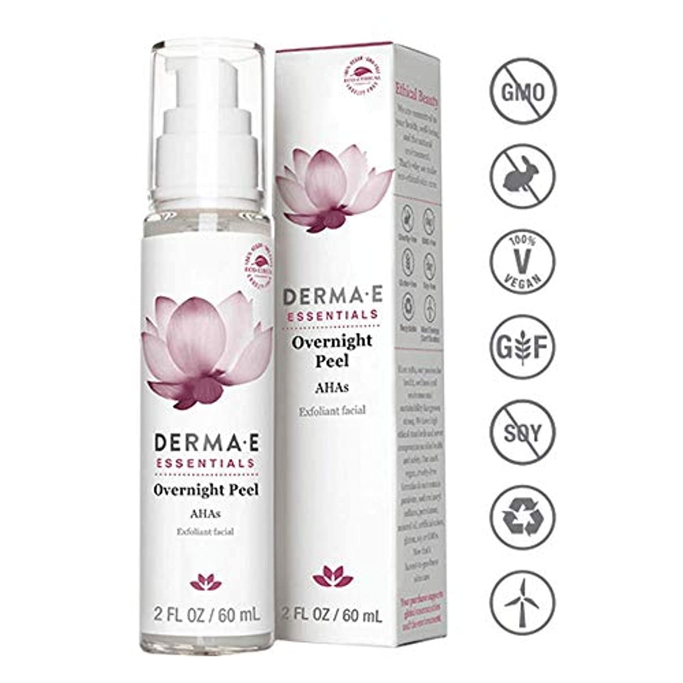 安全なテキストキルトDerma E Evenly Radiant Brightening Night Cream 56g/2oz並行輸入品