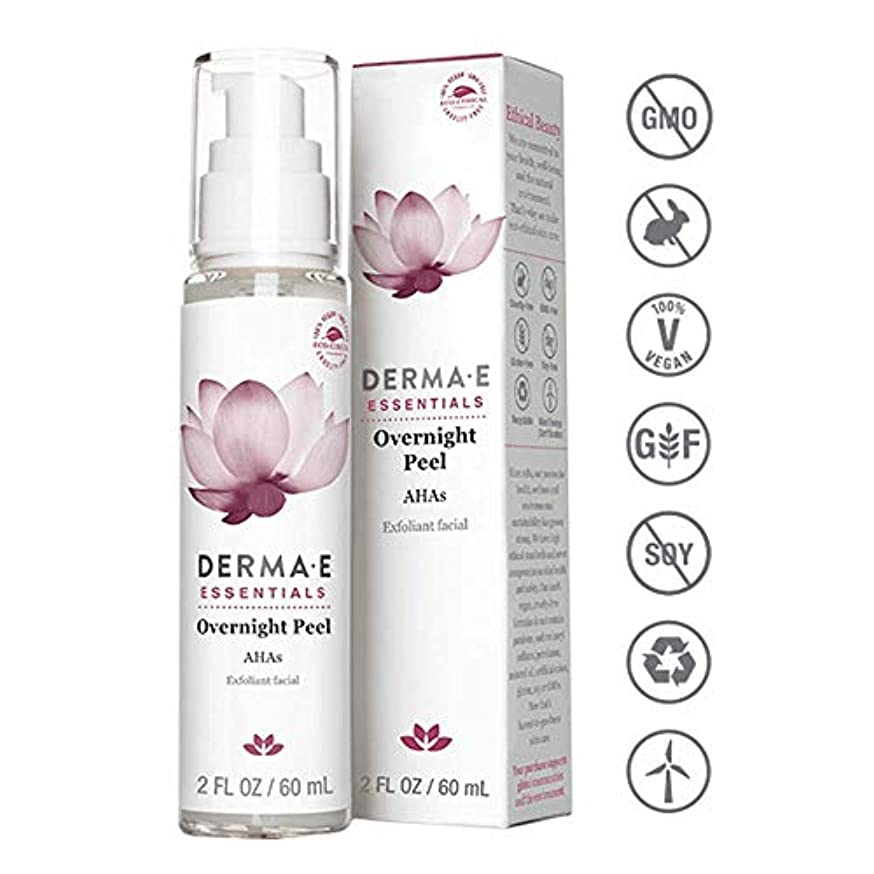 突き刺す知性変更可能Derma E Evenly Radiant Brightening Night Cream 56g/2oz並行輸入品