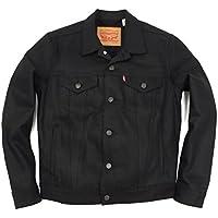LEVI'S リーバイス #72334 デニムジャケット ザ・トラッカー ポリッシュド ブラック