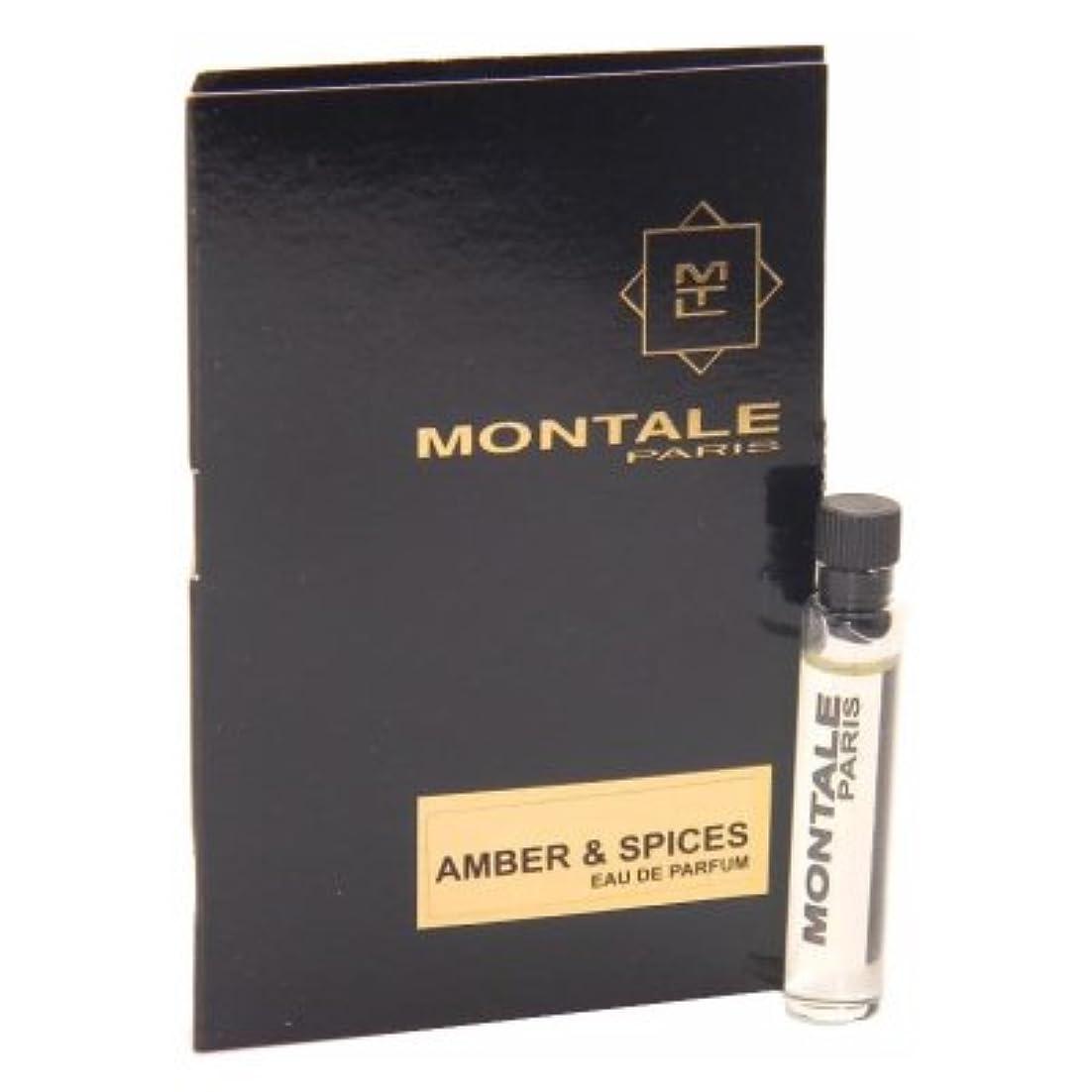 子豚委員長幸福Montale Amber & Spices EDP Vial Sample 2ml(モンタル アンバー & スパイス オードパルファン 2ml)[海外直送品] [並行輸入品]
