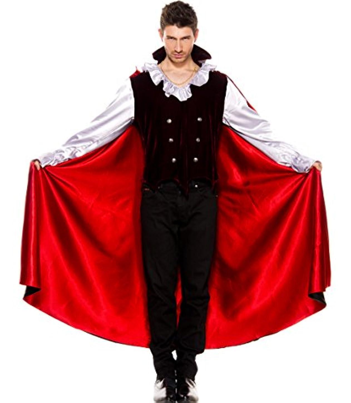 ロシア従うまつげMUSIC LEGS VAMPIRE 吸血鬼 ヴァンパイア メンズコスチューム(XL)