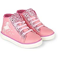 Hatley Girls' High Top Sneakers