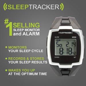 Sleeptrackerエリートオニキスブラックスリープモニター&アラーム 並行輸入品