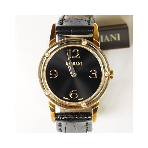 DAMIANI ダミアーニ 30001816 D・SIDE シリーズ クォーツ 腕時計 アリゲーター/ブラック[並行輸入品]