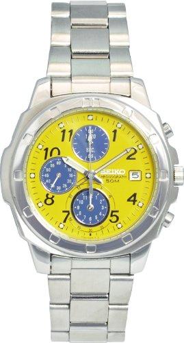 [セイコーimport]SEIKO 腕時計 逆輸入 海外モデル イエロー SND409 メンズ -