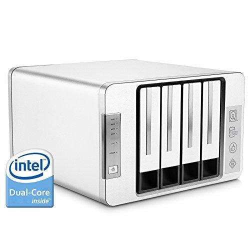 TerraMaster F4-220 4ベイNAS 2.41GHz Intel デュアルコアCPU搭載 2GBメモリ 2年保証 高速モデル 省電力 個人/SOHO RAID1/RAID0/RAID 5/RAID10/JBOD/Single対応 (HDD付属なし)