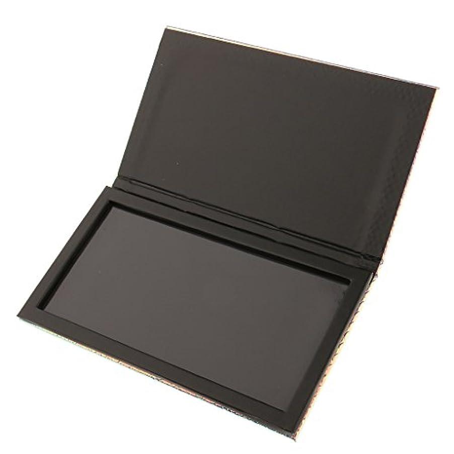 レール冷蔵する廃棄する磁気パレットボックス 空の磁気パレット 化粧品ケース メイクアップ コスメ 収納 ボックス 旅行 出張 化粧品DIY 全2サイズ選べ - 18x10cm