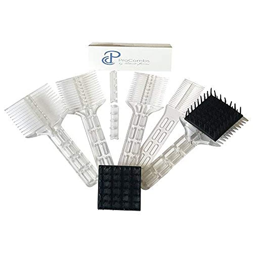 クランシー空のスリムScissor/Clipper Over Comb Tool For The Perfect Haircut [並行輸入品]