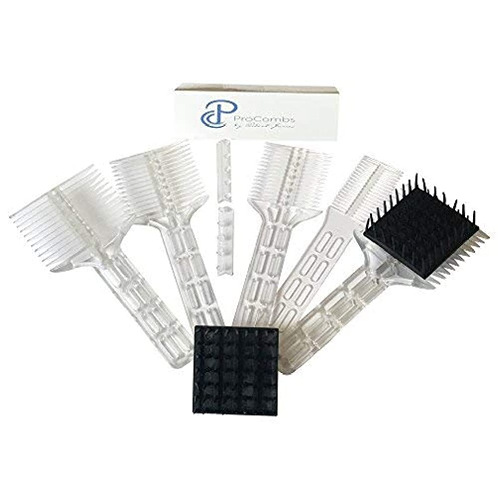 差別する打たれたトラックむしゃむしゃScissor/Clipper Over Comb Tool For The Perfect Haircut [並行輸入品]